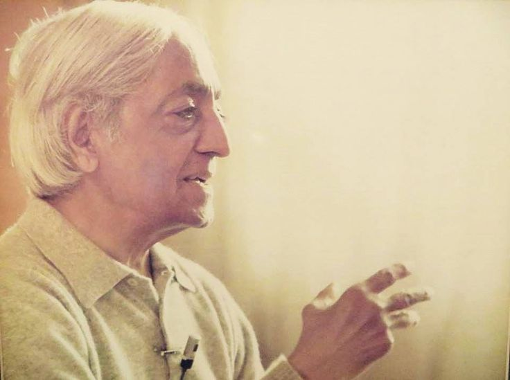 Jiddu Krishnamurti - La libertà interiore